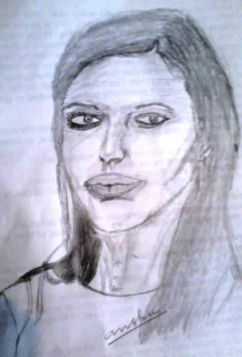 Angelina Jolie by AvinashJhaAnshu